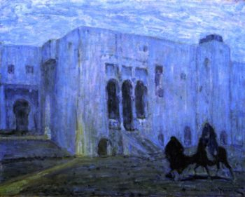 Palace of Justice Tangier | Henry Ossawa Tanner | oil painting