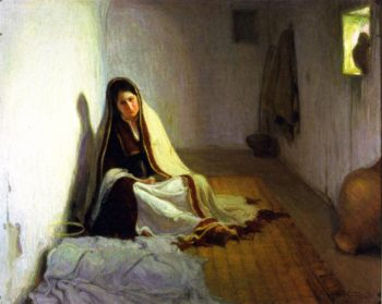 La Sainte Marie | Henry Ossawa Tanner | oil painting