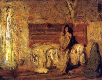 Study for The Annunciation | Henry Ossawa Tanner | oil painting