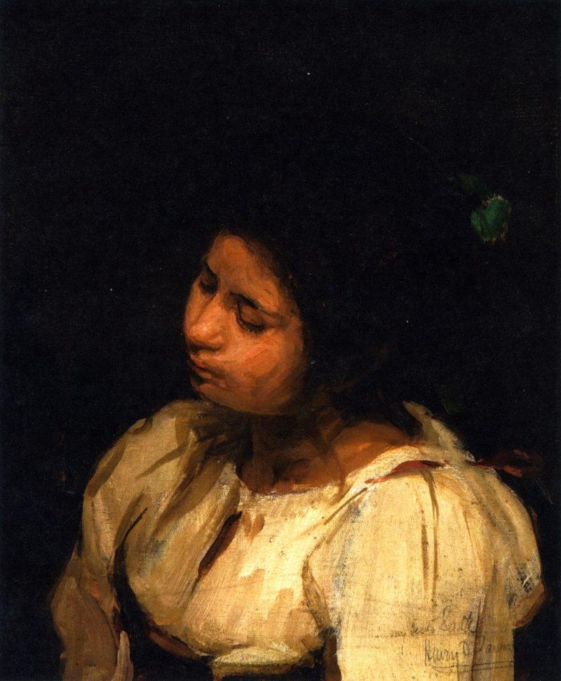 Sister Sarah | Henry Ossawa Tanner | oil painting