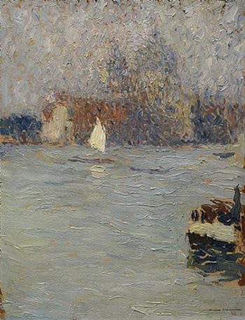 View of Venice | Henri Martin | oil painting
