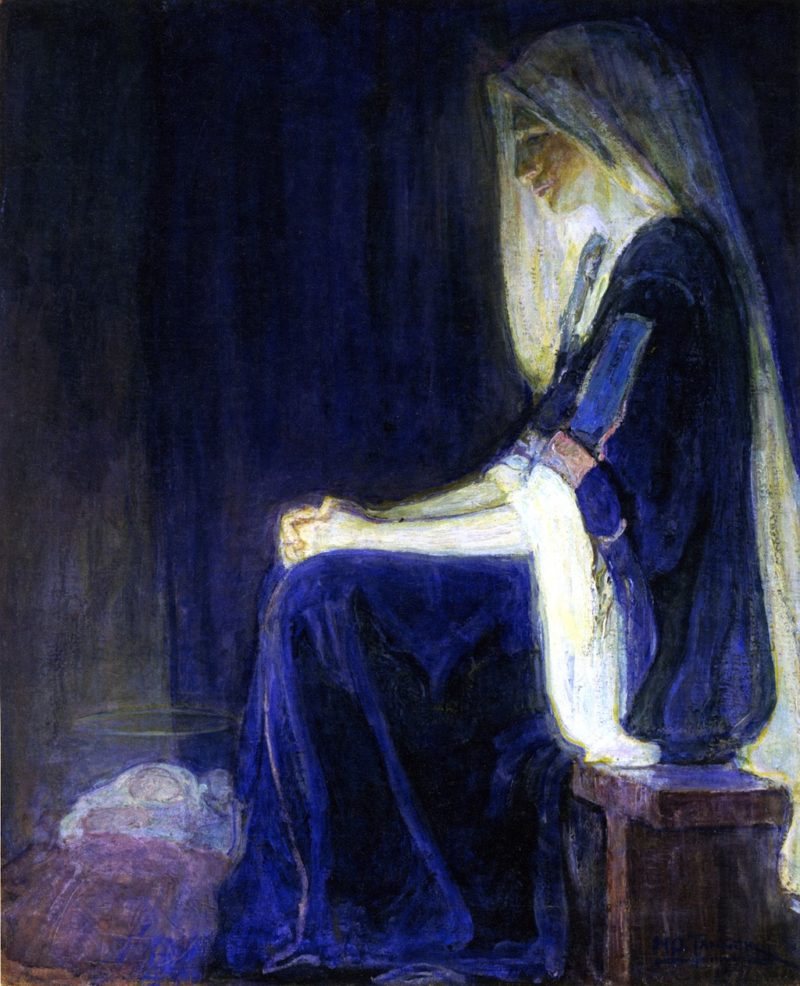Mary   Henry Ossawa Tanner   oil painting