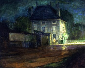 Neufchateau | Henry Ossawa Tanner | oil painting