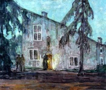 The House of Joan of Arc | Henry Ossawa Tanner | oil painting