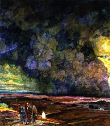 Sodom and Gomorrah | Henry Ossawa Tanner | oil painting