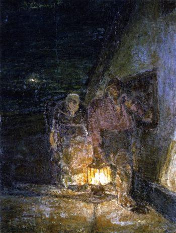 Fishermens Return | Henry Ossawa Tanner | oil painting
