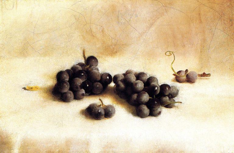 Grapes | Joseph Decker | oil painting