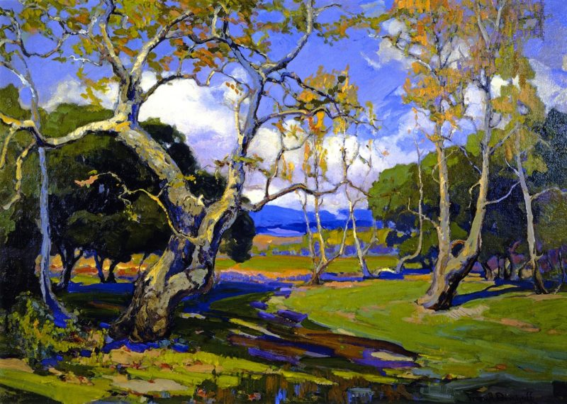 A California Woodland | Franz Bischoff | oil painting