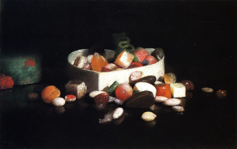 Christmas Candy | Joseph Decker | oil painting