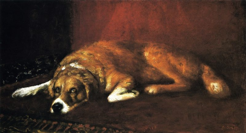 Butch   Joseph Decker   oil painting