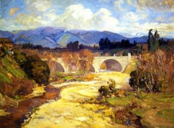 Arroyo Seco Bridge | Franz Bischoff | oil painting