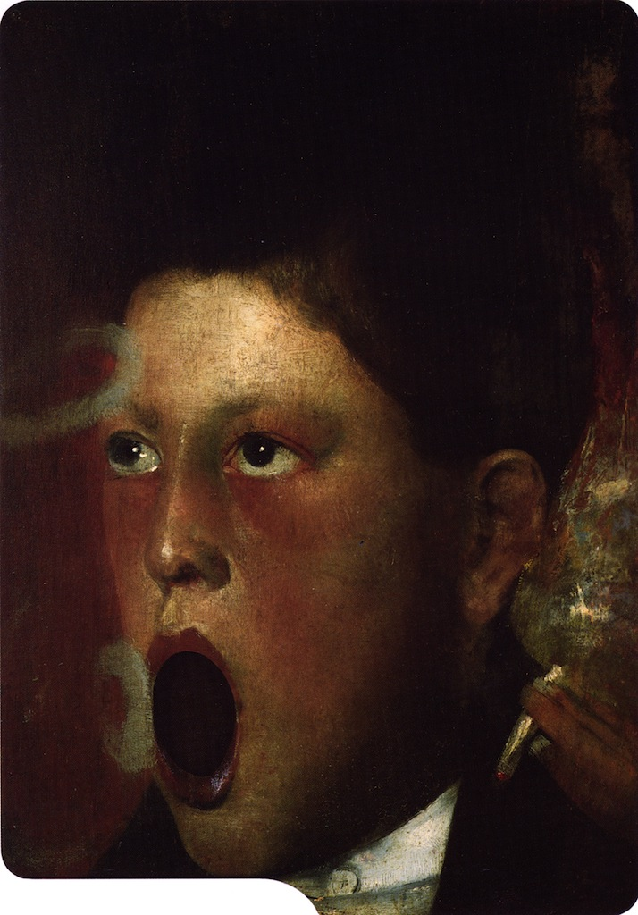 Boy Smoking | Joseph Decker | oil painting