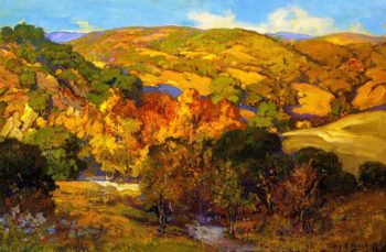 Autumn Moods | Franz Bischoff | oil painting