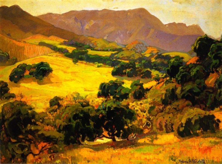 California Oaks | Franz Bischoff | oil painting