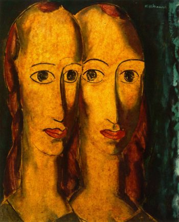 Sisters | Alfred Henry Maurer | oil painting