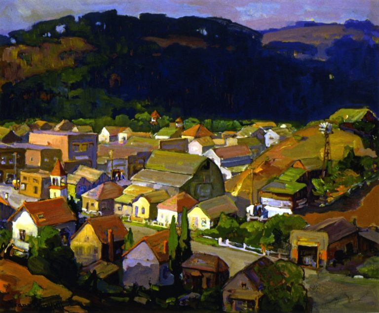 Cambria | Franz Bischoff | oil painting
