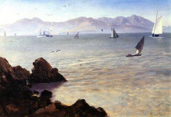 San Francisco Bay | Albert Bierstadt | oil painting