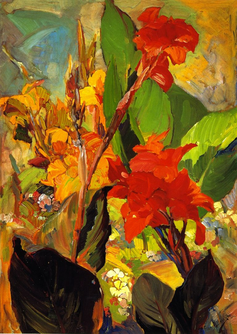 Cannas | Franz Bischoff | oil painting