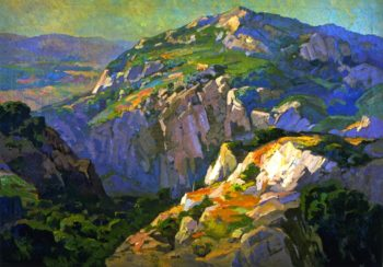 Canyon Green | Franz Bischoff | oil painting
