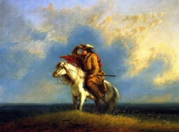 The Lost Greenhorn | Alfred Jacob Miller | oil painting