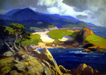 Cypress Point | Franz Bischoff | oil painting