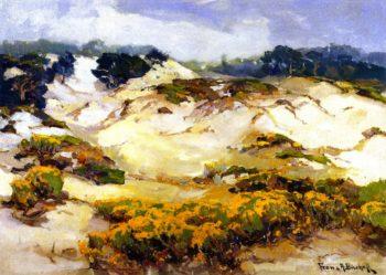 Dunes Pallid by Mist Monterey Coast   Franz Bischoff   oil painting