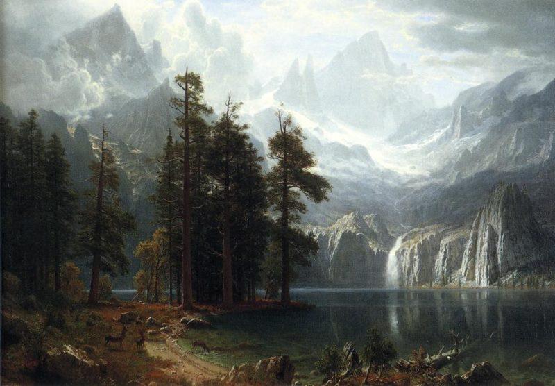 Sierra Nevada | Albert Bierstadt | oil painting