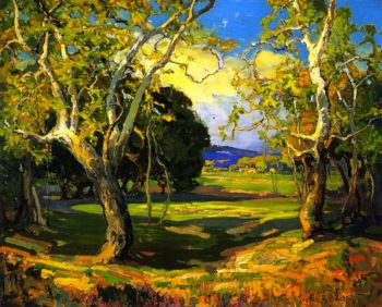 Early Spring | Franz Bischoff | oil painting