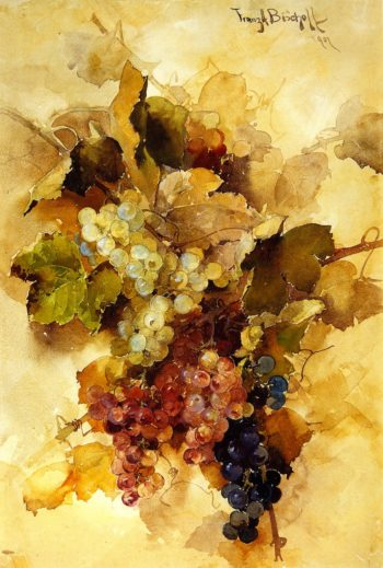 Grapes | Franz Bischoff | oil painting