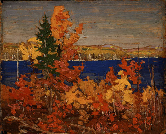 Autumn Foliage | Tom Thompson | oil painting