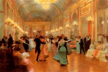 Elegant Soiree   Vincent Gabriel Gilbert   oil painting