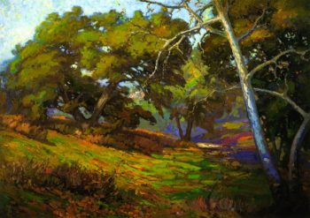 In the Shade of the Arroyo | Franz Bischoff | oil painting