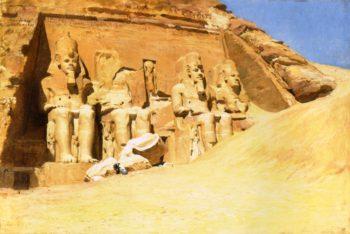 Abu Simbel | Frederick Arthur Bridgman | oil painting