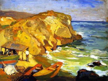 Laguna Cove   Franz Bischoff   oil painting