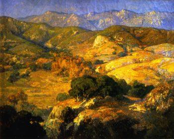 Landscape at Saint Valery sur Somme   Franz Bischoff   oil painting
