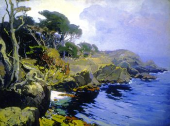 Mist Veiled Days Monterey | Franz Bischoff | oil painting