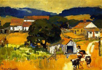 Monterey Farm | Franz Bischoff | oil painting