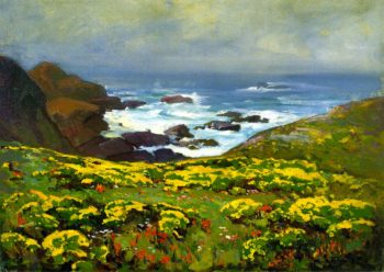 Morning Mist Monterey Coast | Franz Bischoff | oil painting