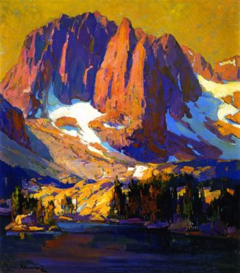 Mount Alice at Sunset | Franz Bischoff | oil painting