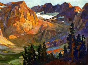 Mount Whitney Country | Franz Bischoff | oil painting