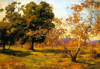 Noontide   Franz Bischoff   oil painting