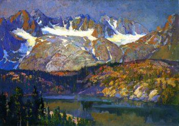 Palisades Glacier | Franz Bischoff | oil painting