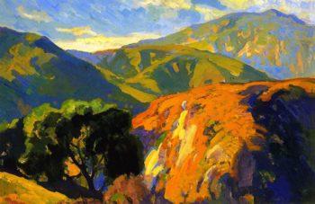 Pasadena Foothills | Franz Bischoff | oil painting