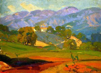 Pasadena Landscape | Franz Bischoff | oil painting