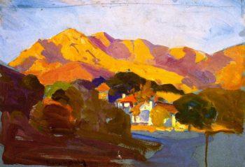 Pasadena Sunset | Franz Bischoff | oil painting