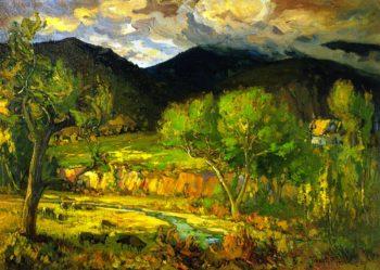 Pastoral Scene | Franz Bischoff | oil painting
