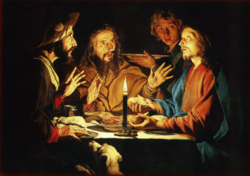 Supper of Emmaus | Gerrit van Honthorst | oil painting
