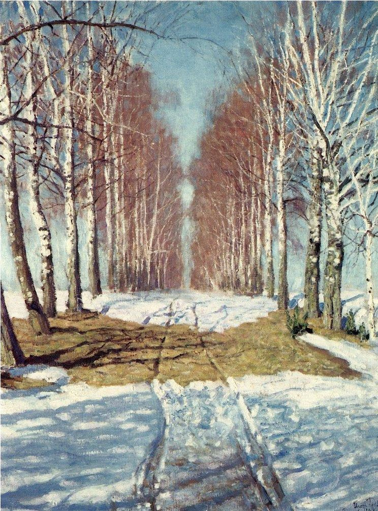 Birch Alley | Igor Grabar | oil painting