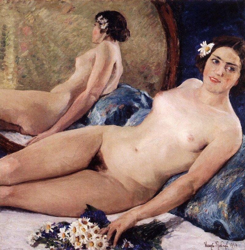 Flora   Igor Grabar   oil painting