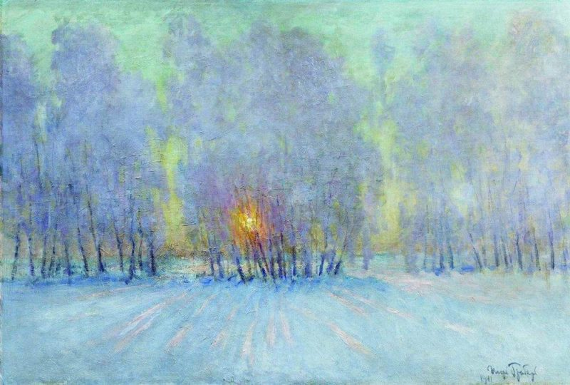Sunrise | Igor Grabar | oil painting